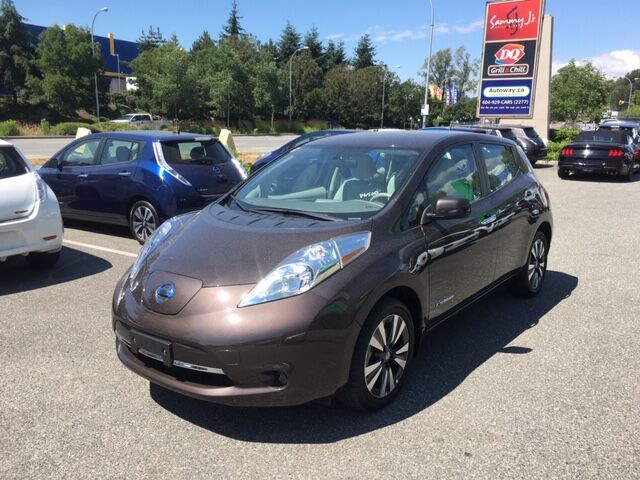 2017 Nissan Leaf SV   Quick Charge   Heated Seats Coquitlam BC