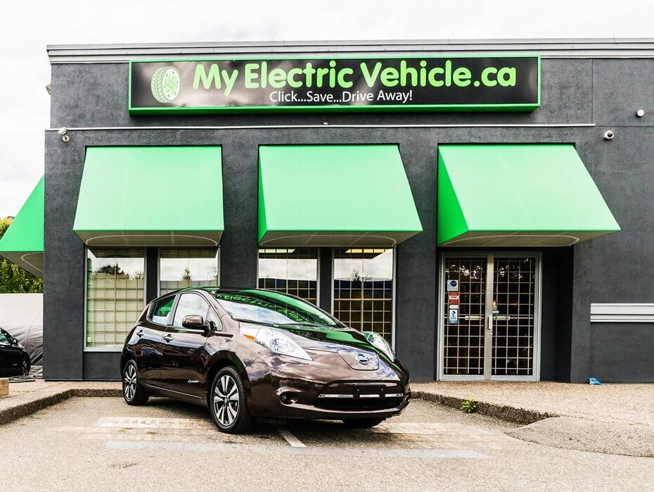2017 Nissan Leaf SV | Quick Charge | Heated Seats Coquitlam BC
