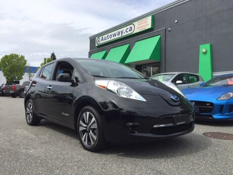 2017 Nissan Leaf SV   Quick Charge   Nav   Heated Seats  Bose Around View Coquitlam BC