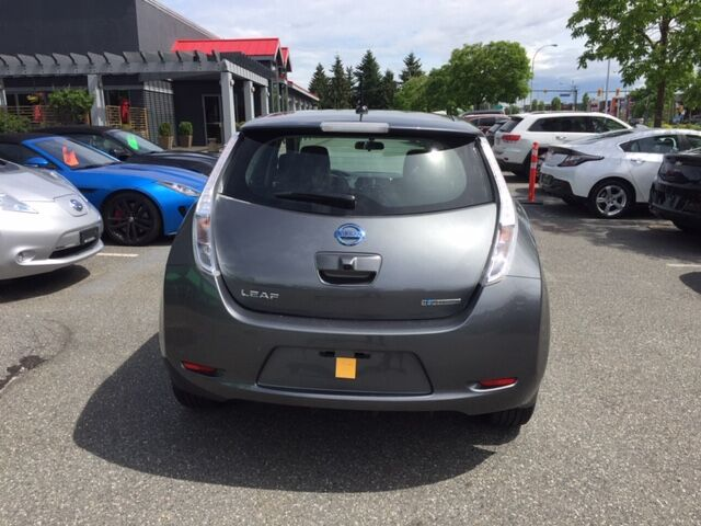 2017 Nissan Leaf SV   Quick Charge   Nav   Heated Seats Coquitlam BC