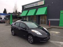2017_Nissan_Leaf SV w/ Quick Charge & Nav_SV | Quick Charge | Navi | Low Mileage | No Accidents_ Coquitlam BC