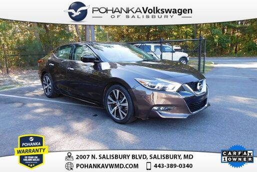 2017_Nissan_Maxima_3.5 S ** NAVIGATION ** SPORTY ** CHECK IT OUT **_ Salisbury MD