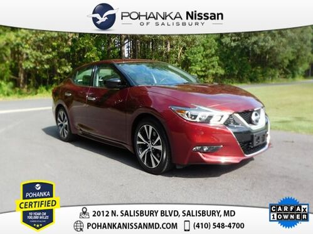 2017_Nissan_Maxima_3.5 S Pohanka Certified_ Salisbury MD