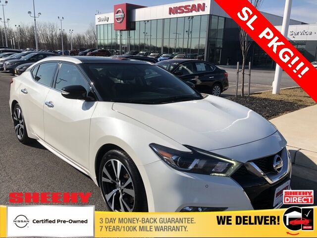 2017 Nissan Maxima 3.5 SL White Marsh MD