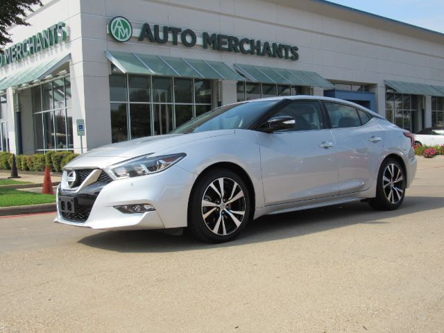 2017 Nissan Maxima 3.5 SV 3.5L 6CYLINDER, AUTOMATIC, LEATHER SEATS, NAVIGATION SYSTEM, REMOTE START ENGINE, REAR PARKIN Plano TX
