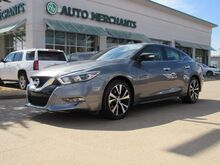 2017_Nissan_Maxima_3.5 SV  LEATHER SEATS, NAVIGATION SYSTEM, REAR PARKING AID, HEATED FRONT SEATS, BACK UP CAMERA_ Plano TX