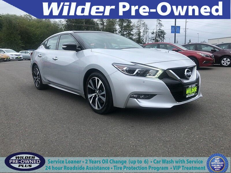 2017 Nissan Maxima 4d Sedan SL Port Angeles WA