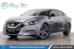 2017 Nissan Maxima Platinum Diamond Seating Moonroof Heated Seats Nav