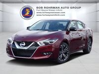 Nissan Maxima Platinum Medallion Package With Navigation 2017