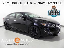 2017_Nissan_Maxima SR_*MIDNIGHT EDTN, NAVIGATION, BLIND SPOT ALERT, BACKUP-CAMERA, CLIMATE SEATS, BOSE, BLUETOOTH_ Round Rock TX
