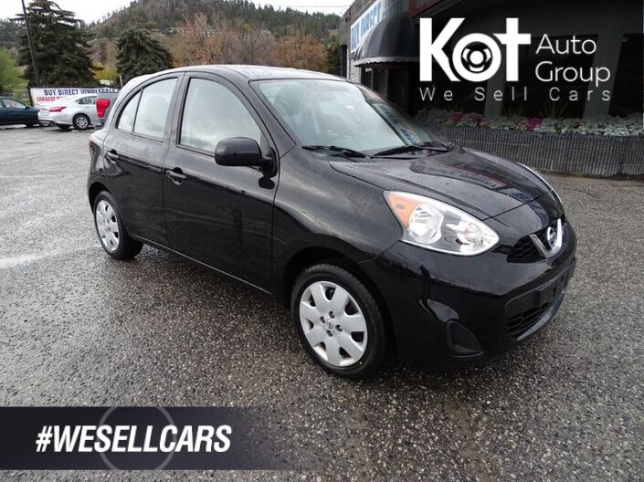 2017 Nissan Micra SV, HATCHBACK! LOW KMS! LOW PAYMENTS! SAVE ON GAS! Kelowna BC
