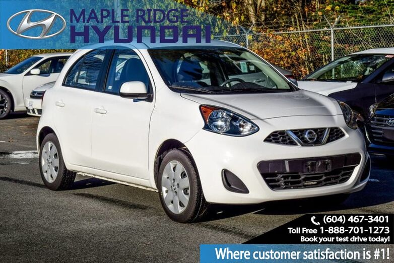 2017 Nissan Micra SV, Power Windows, Blue Tooth, Back Up Camera, Great on Gas!! Maple Ridge BC