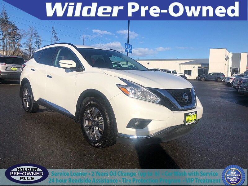 2017 Nissan Murano 4d SUV AWD SV (2017.5) Port Angeles WA