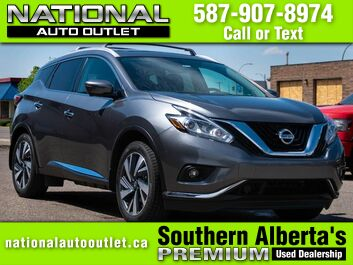 Nissan Murano PLATINUM - CLEAN CARFAX- NAVIGATION -SUN ROOF- AWD Lethbridge AB