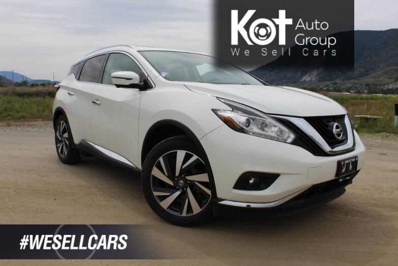 2017 Nissan Murano Platinum, 1 Owner, Pride of Ownership Throughout ! **Must See** Kelowna BC