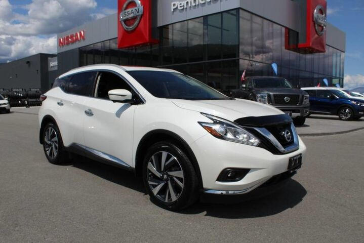 2017 Nissan Murano Platinum, Fully Loaded, Low Km's, Certified Pre-Owned Kelowna BC