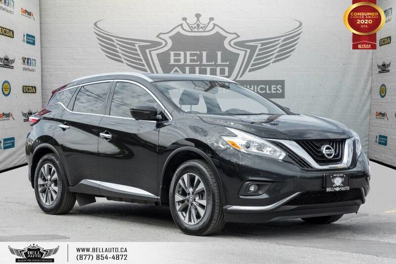 2017 Nissan Murano SL, AWD, NO ACCIDENT, NAVI, 360 CAM, BLIND SPOT