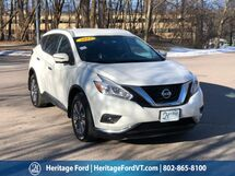 2017 Nissan Murano SL South Burlington VT