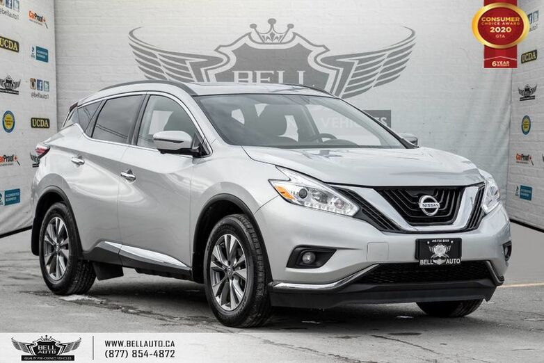2017 Nissan Murano SV, AWD, NO ACCIDENT, NAVI, 360 CAM, B.SPOT, PANO ROOF Toronto ON