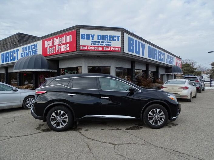 2017 Nissan Murano SV Panoramic Sunroof, Heated Seats, Navigation, Back-up Camera Penticton BC