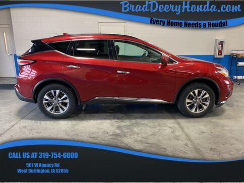 2017_Nissan_Murano_SV_ West Burlington IA