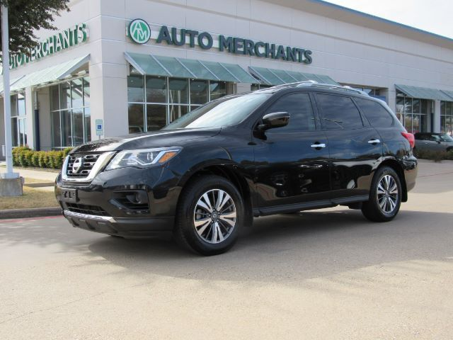 2017 Nissan Pathfinder S 2WD, BACK-UP CAMERA, BLUETOOTH, AUXILIARY INPUT, CD CHANGER, 3RD ROW SEATING Plano TX