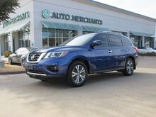 2017_Nissan_Pathfinder_SL 2WD  LEATHER SEATS, BACK UP CAMERA, HEATED FRONT AND REAR SEATS, 360 DEGREE CAMERA_ Plano TX