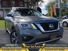 2017_Nissan_Pathfinder_SL-$90Wk-Backup-HeatdLeathrSeats-Alloys-LowKm_ London ON