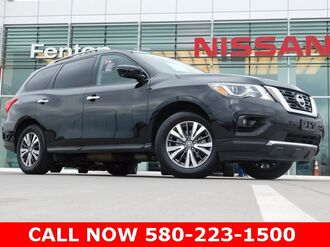 2017_Nissan_Pathfinder_SL Certified Pre-Owned - 3RD ROW - LEATHER - ONE OWNE_ Ardmore OK