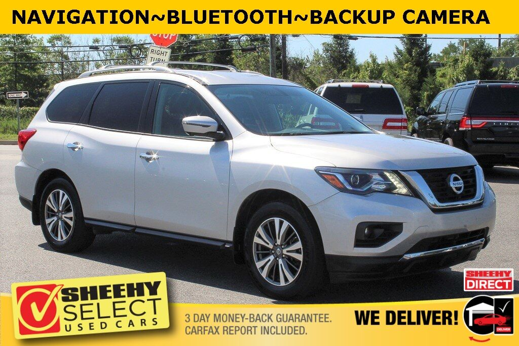 2017 Nissan Pathfinder SL Suitland MD