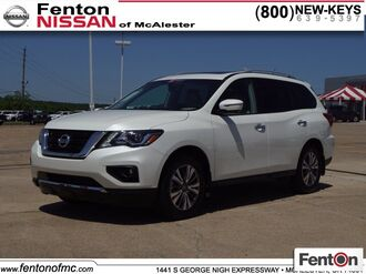 2017_Nissan_Pathfinder_SL_ McAlester OK