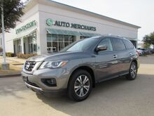 2017_Nissan_Pathfinder_SV 2WD*CARGO PACKAGE,3RD ROW SEAT, REAR PARKING AID,UNDER FACTORY WARRANTY!_ Plano TX