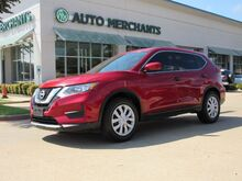 2017_Nissan_Rogue_S 2WD CLOTH SEATS, BACKUP CAM, BLUETOOTH, AUX/USB INPUT, SAT RADIO, CD PLAYER, CRUISE_ Plano TX
