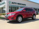 2017 Nissan Rogue S 2WD CLOTH SEATS, BACKUP CAMERA, AUX/USB INPUT, BLUETOOTH CONNECTIVITY, UNDER FACTORY WARRANTY