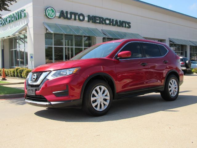 2017 Nissan Rogue S 2WD CLOTH SEATS, BACKUP CAMERA, AUX/USB INPUT, BLUETOOTH CONNECTIVITY, UNDER FACTORY WARRANTY Plano TX