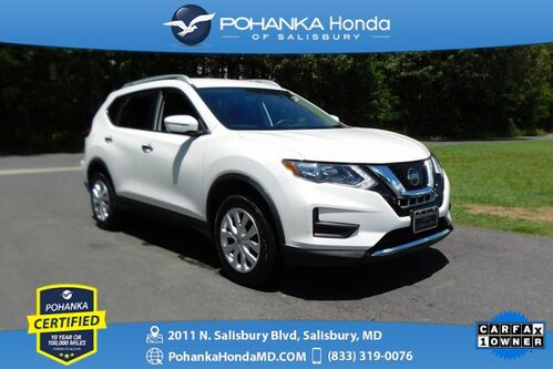 2017_Nissan_Rogue_S AWD ** Pohanka Certified 10 Year / 100,000  **_ Salisbury MD