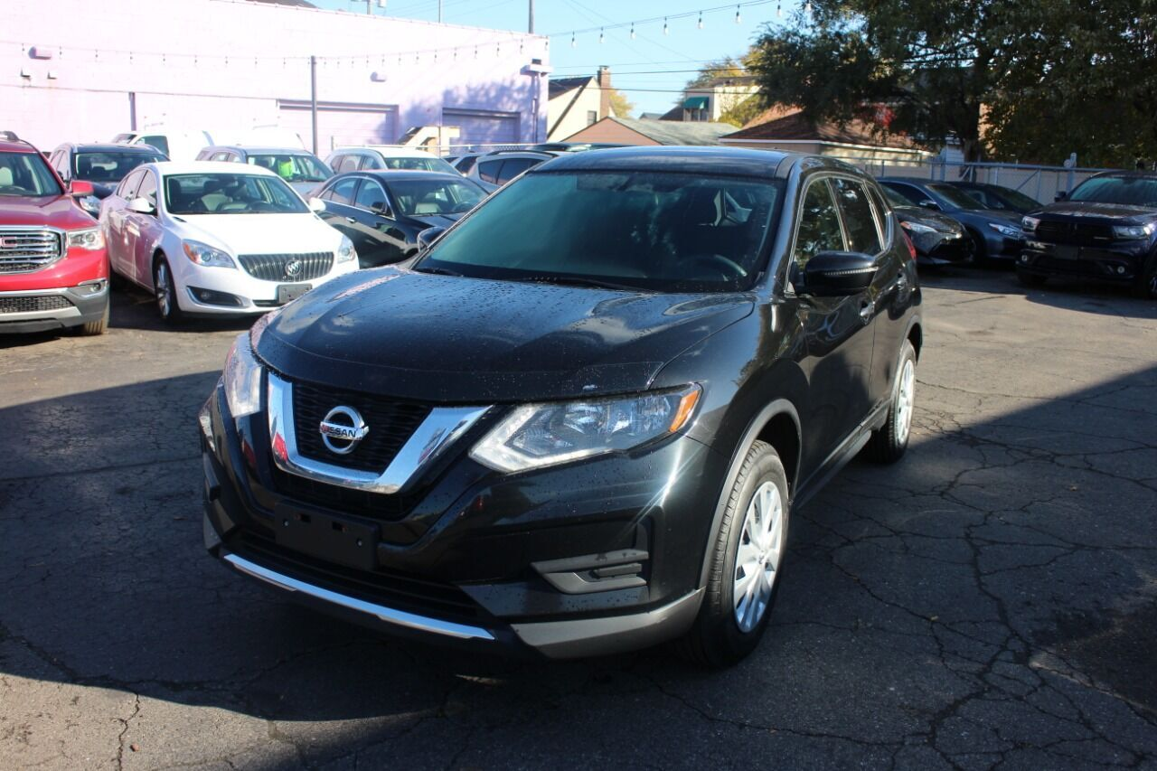 2017 Nissan Rogue S AWD 4dr Crossover