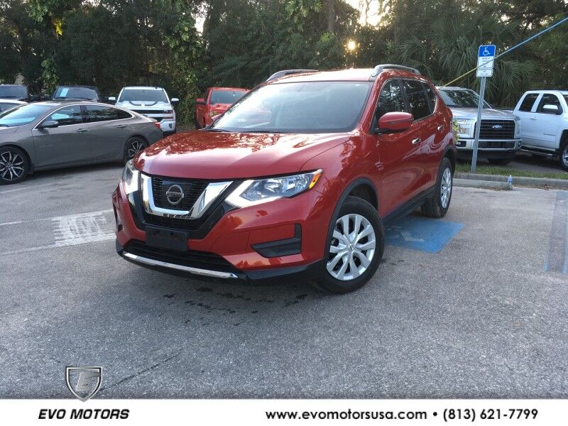 2017 Nissan Rogue S AWD W LEATHER Seffner FL