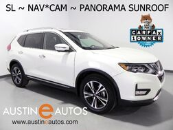 2017_Nissan_Rogue SL_*NAVIGATION, BLIND SPOT ALERT, COLLISION ALERT, SURROUND-CAMERAS, PANORAMA MOONROOF, LEATHER, HEATED SEATS/STEERING WHEEL, BOSE AUDIO, BLUETOOTH_ Round Rock TX