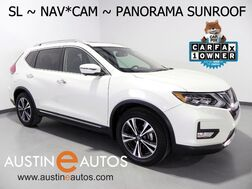 2017_Nissan_Rogue SL_*NAVIGATION, BLIND SPOT ALERT, COLLISION ALERT, SURROUND-CAMERAS, PANORAMA SUNROOF, LEATHER, HEATED SEATS/STEERING WHEEL BOSE AUDIO, BLUETOOTH_ Round Rock TX