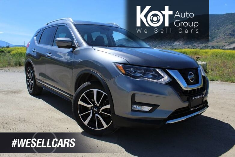 2017 Nissan Rogue SL, Panoramic Sunroof, Navigation, and Heated Front Seats Kelowna BC