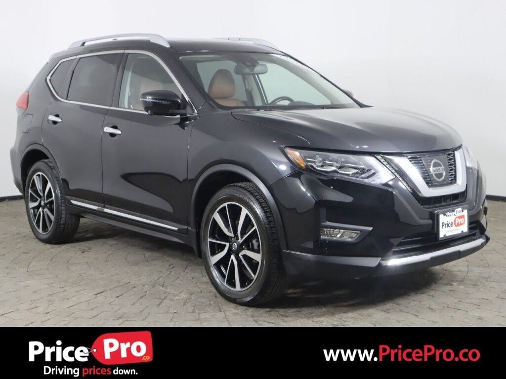 2017 Nissan Rogue SL Platinum AWD w/Nav/Pano Roof/Adaptive Cruise