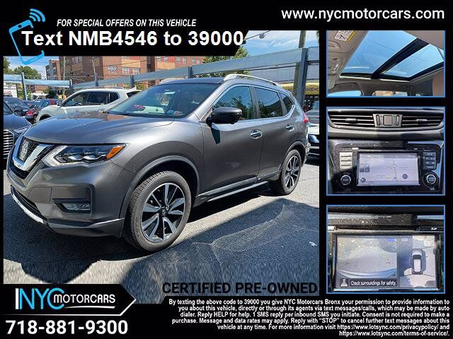 2017 Nissan Rogue SL Platinum Package Bronx NY