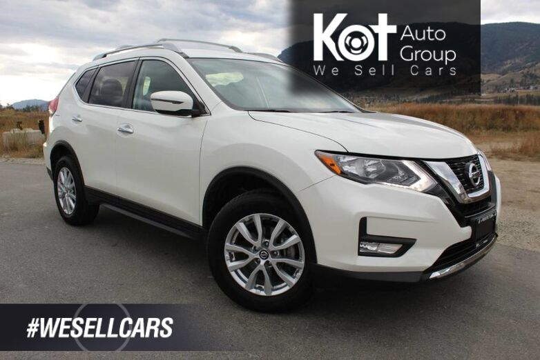 2017 Nissan Rogue SV AWD, One Owner, Very Low Km's, Heated Front Seats Kelowna BC