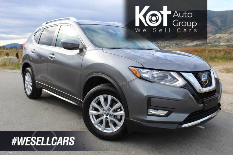 2017 Nissan Rogue SV, Sunroof, One Owner, No Accidents Kelowna BC