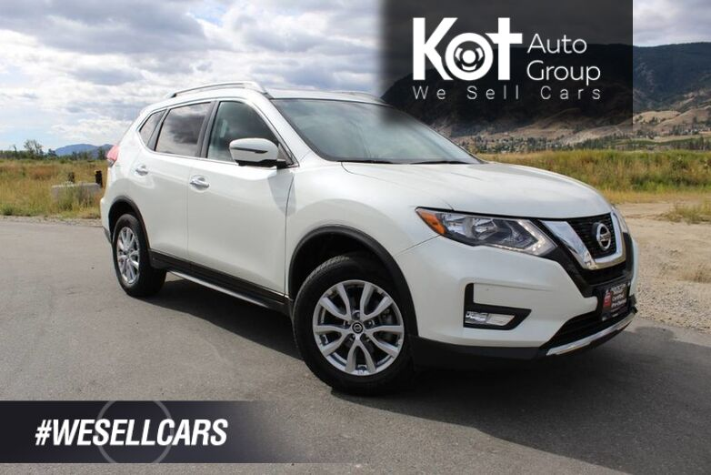 2017 Nissan Rogue SV Tech Pkg., Low Km's, No Accidents, Navigation Kelowna BC