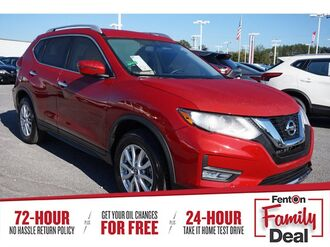 2017_Nissan_Rogue_SV_ Knoxville TN