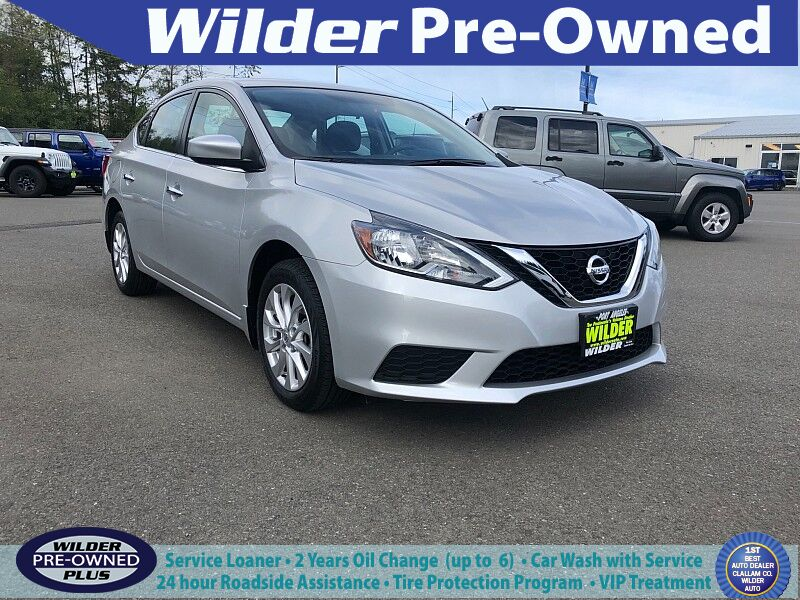 2017 Nissan Sentra 4d Sedan SV Port Angeles WA