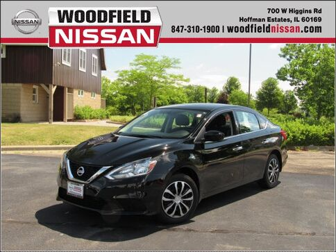 2017_Nissan_Sentra_S_ Hoffman Estates IL