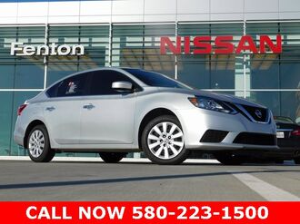 2017_Nissan_Sentra_S Nissan Certified Pre-Owned  One Owner Clean Carfax_ Ardmore OK